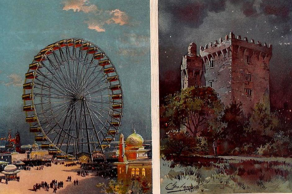 Ferris-Wheel-and-Blarney-Castle