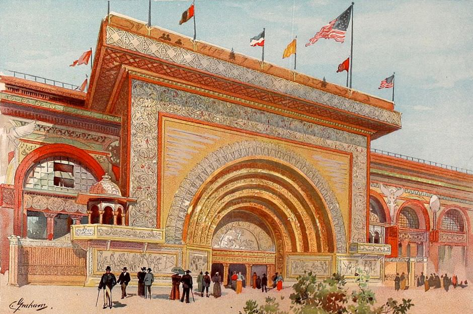 The-gilded-entrance-to-the-Transportation-Building